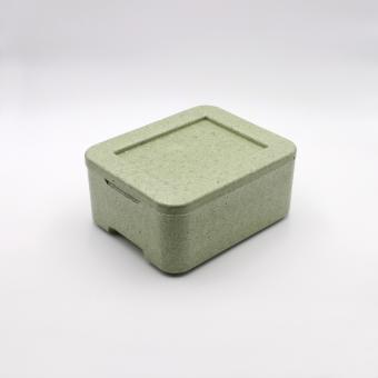 Styroporbox für 2 Menüschalen W2