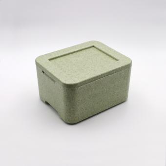 Styroporbox für 3 Menüschalen W3